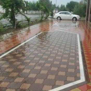 брусчатка в Бишкеке